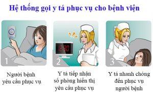 Giải pháp chuông gọi y tá