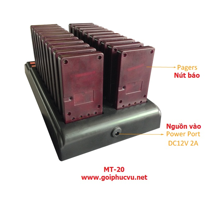 Hệ thống gọi khách hàng MT-20
