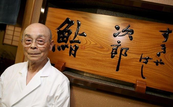 đầu bếp Nhà hàng Sukiyabashi Jiro của Nhật Bản
