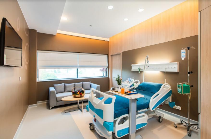 Phòng bệnh Executive Suite rộng rãi với những thiết bị hàng đầu thế giới